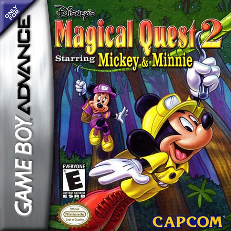 Magical Quest 2 Starring Mickey & Minnie Nintendo Game Boy Advance cover artwork