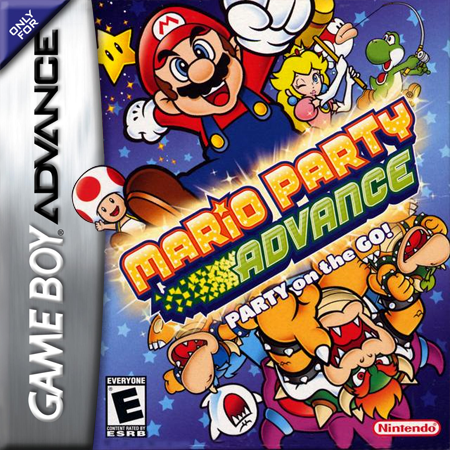Mario Party Advance Nintendo Game Boy Advance cover artwork