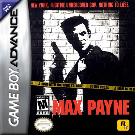 Max Payne Nintendo Game Boy Advance cover artwork