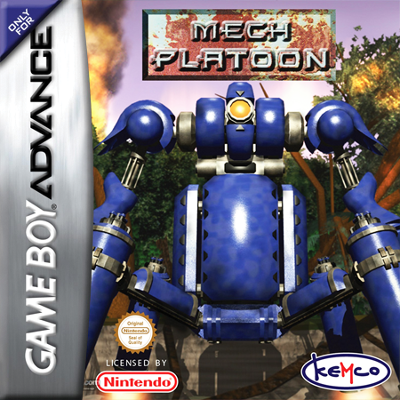 Mech Platoon Nintendo Game Boy Advance cover artwork