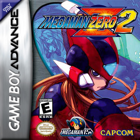 Mega Man Zero 2 Nintendo Game Boy Advance cover artwork