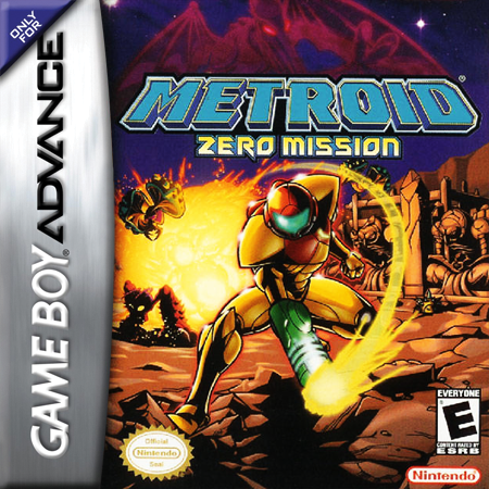 Metroid - Zero Mission Nintendo Game Boy Advance cover artwork
