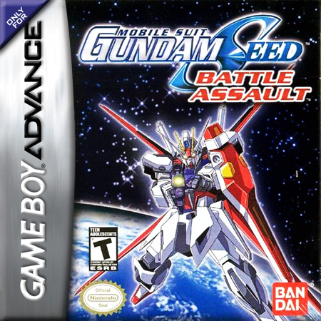 Mobile Suit Gundam Seed - Battle Assault Nintendo Game Boy Advance cover artwork