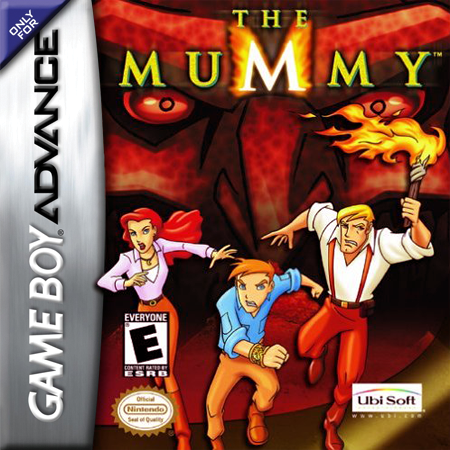 Mummy, The Nintendo Game Boy Advance cover artwork