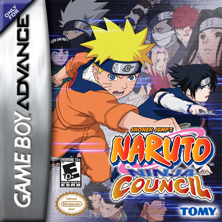 Naruto - Ninja Council Nintendo Game Boy Advance cover artwork