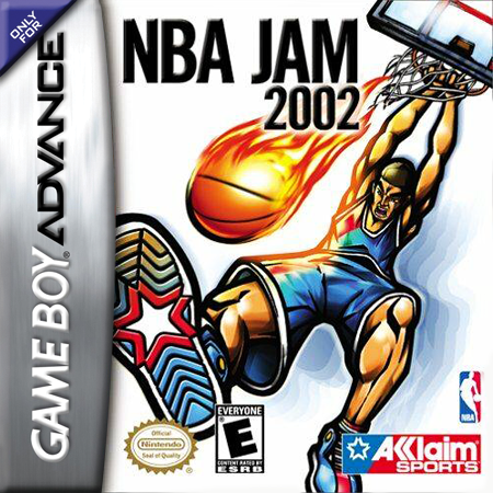 NBA Jam 2002 Nintendo Game Boy Advance cover artwork