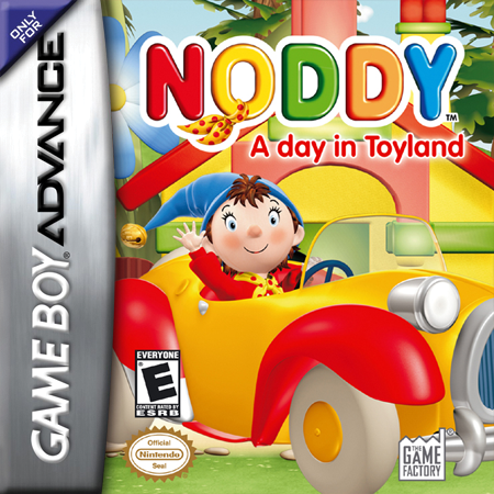 Noddy - A Day in Toyland Nintendo Game Boy Advance cover artwork