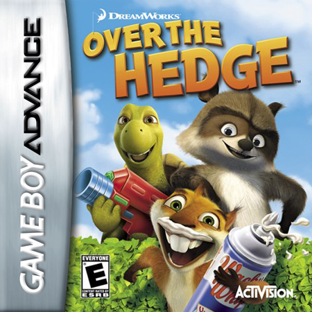 Over the Hedge Nintendo Game Boy Advance cover artwork