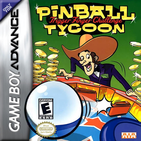 Pinball Tycoon Nintendo Game Boy Advance cover artwork