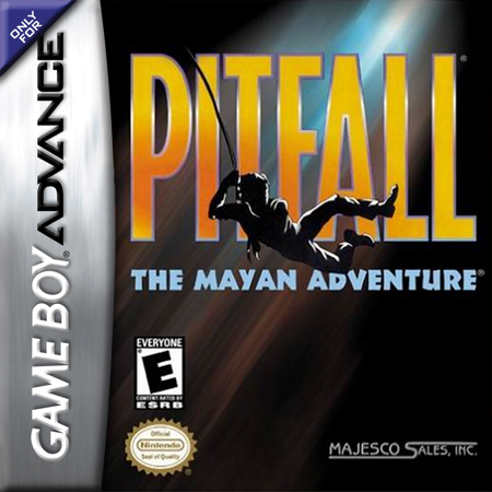 Pitfall - The Mayan Adventure Nintendo Game Boy Advance cover artwork