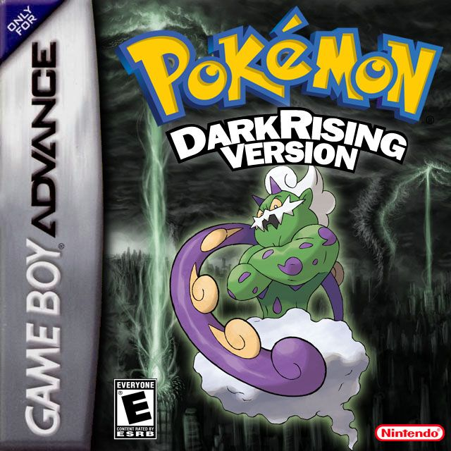 Pokemon Dark Rising 1 Nintendo Game Boy Advance cover artwork