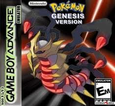 Pokemon Genesis Nintendo Game Boy Advance cover artwork