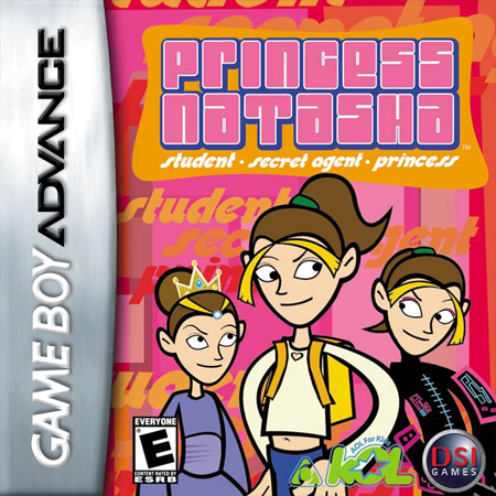 Princess Natasha - Student, Secret Agent, Princess Nintendo Game Boy Advance cover artwork