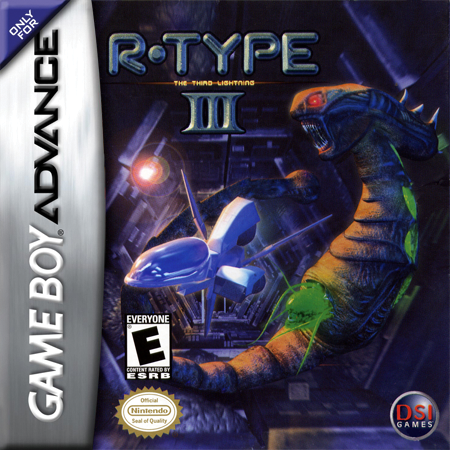 R-Type III - The Third Lightning Nintendo Game Boy Advance cover artwork