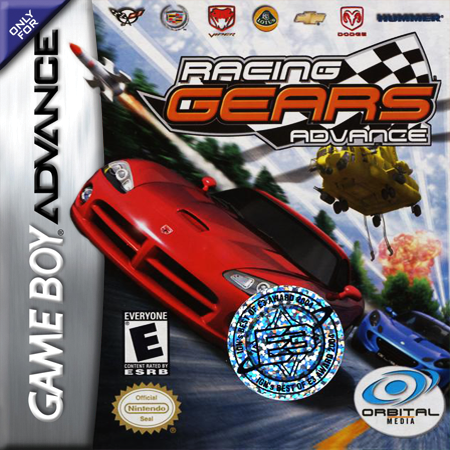 Racing Gears Advance Nintendo Game Boy Advance cover artwork