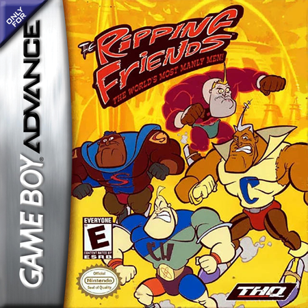 Ripping Friends, The Nintendo Game Boy Advance cover artwork