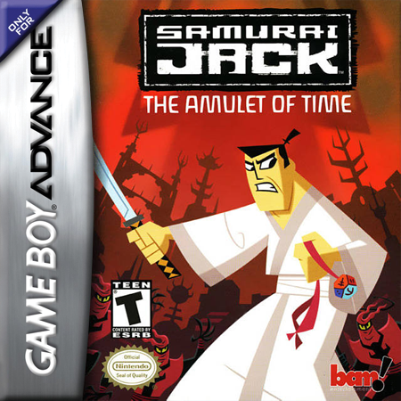Samurai Jack - The Amulet of Time Nintendo Game Boy Advance cover artwork