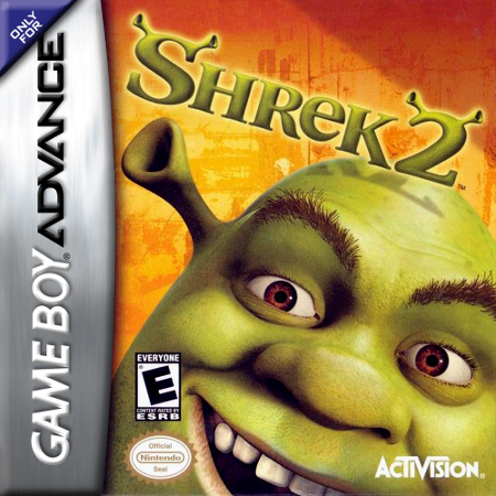 Shrek 2 Nintendo Game Boy Advance cover artwork