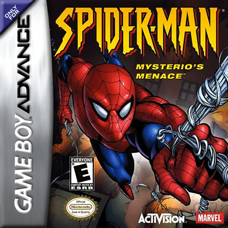 Spider-Man - Mysterio's Menace Nintendo Game Boy Advance cover artwork