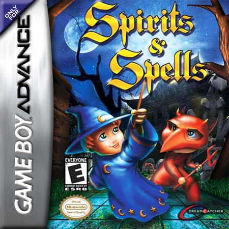 Spirits & Spells Nintendo Game Boy Advance cover artwork