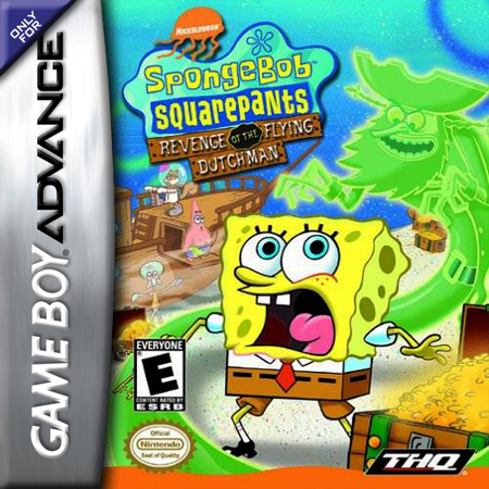 SpongeBob SquarePants - Revenge of the Flying Dutchman Nintendo Game Boy Advance cover artwork