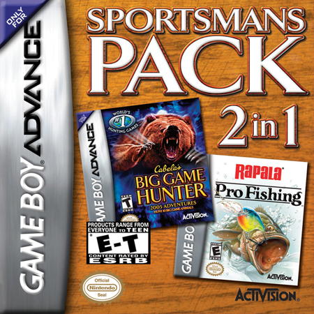 Sportsman's Pack Nintendo Game Boy Advance cover artwork