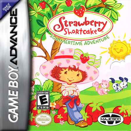 Strawberry Shortcake - Summertime Adventure Nintendo Game Boy Advance cover artwork