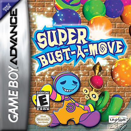 Super Bust-A-Move Nintendo Game Boy Advance cover artwork
