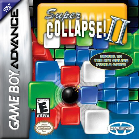 Super Collapse! II Nintendo Game Boy Advance cover artwork