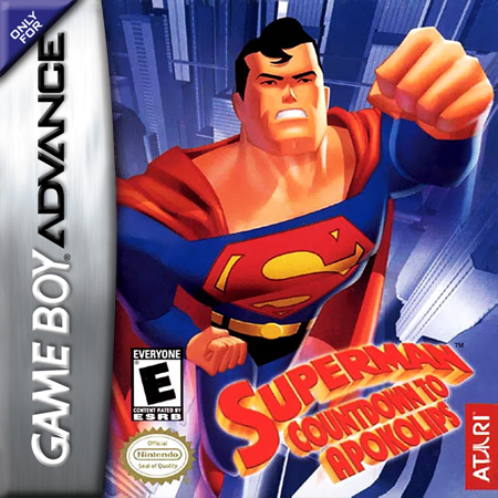Superman - Countdown to Apokolips Nintendo Game Boy Advance cover artwork