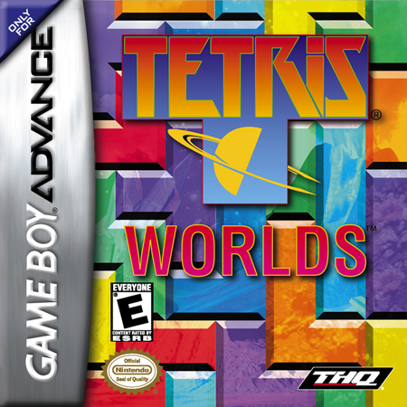 Tetris Worlds Nintendo Game Boy Advance cover artwork