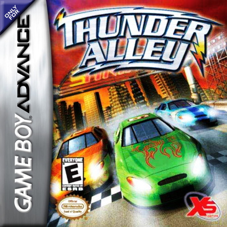 Thunder Alley Nintendo Game Boy Advance cover artwork