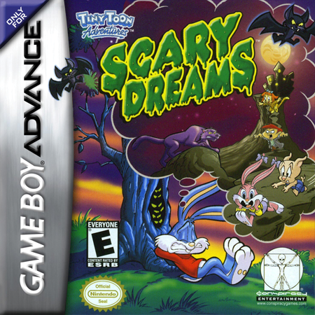 Tiny Toon Adventures - Scary Dreams Nintendo Game Boy Advance cover artwork
