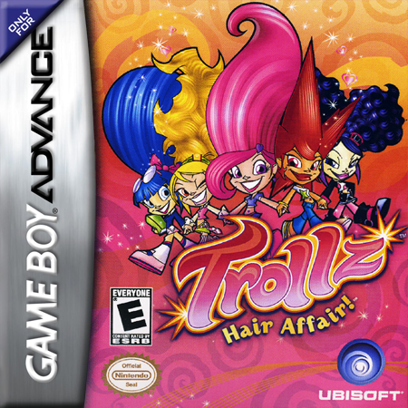 Trollz - Hair Affair! Nintendo Game Boy Advance cover artwork