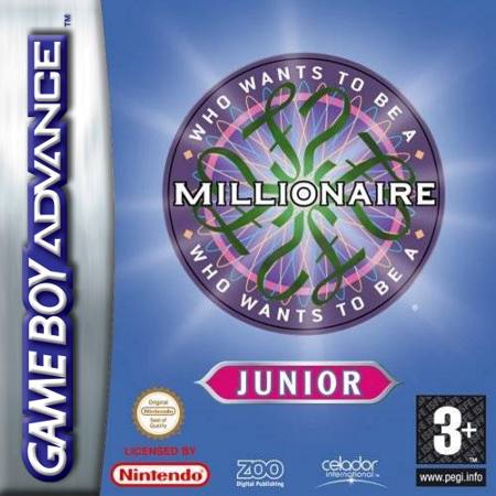 play who wants to be a millionaire junior nintendo game boy, Powerpoint templates