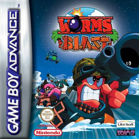 Worms Blast Nintendo Game Boy Advance cover artwork