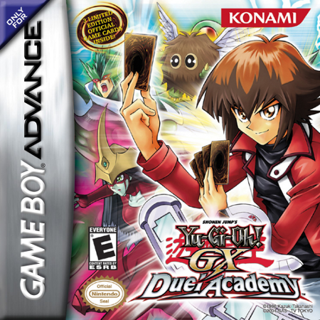 Yu-Gi-Oh! GX - Duel Academy Nintendo Game Boy Advance cover artwork