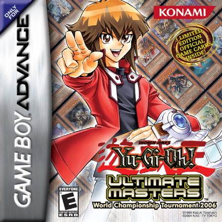 Yu-Gi-Oh! - Ultimate Masters - World Championship Tournament 2006 Nintendo Game Boy Advance cover artwork
