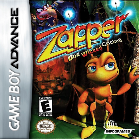 Zapper Nintendo Game Boy Advance cover artwork