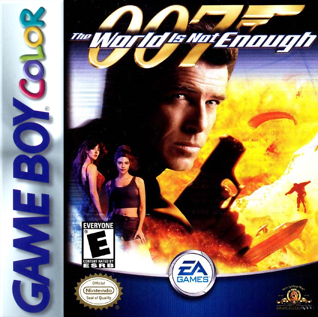 007 - The World Is Not Enough Nintendo Game Boy Color cover artwork