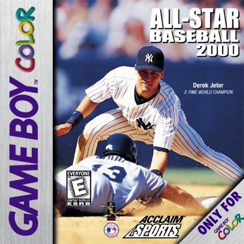All-Star Baseball 2000 Nintendo Game Boy Color cover artwork