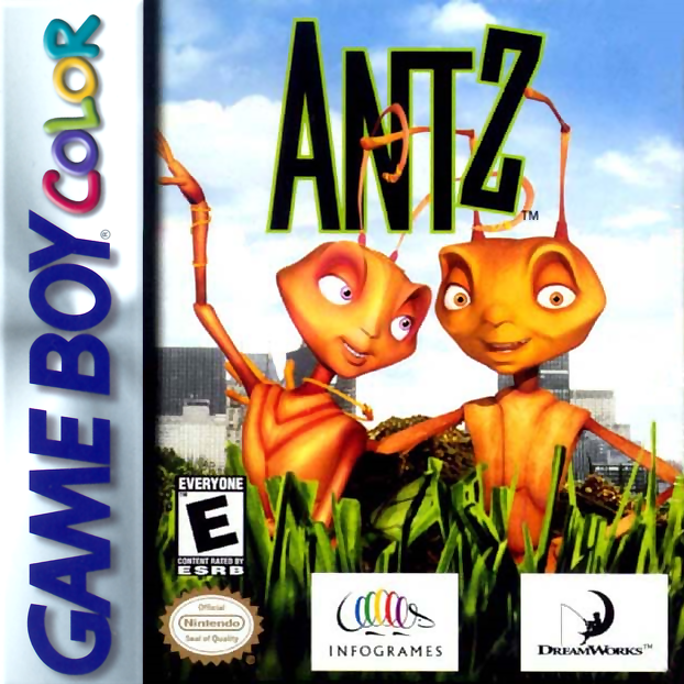 Antz Nintendo Game Boy Color cover artwork
