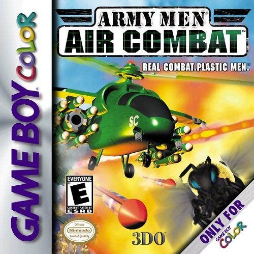 Army Men - Air Combat Nintendo Game Boy Color cover artwork