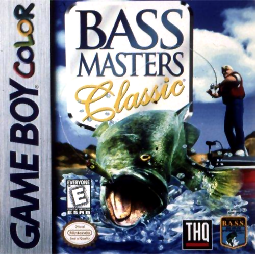 Bass Masters Classic Nintendo Game Boy Color cover artwork