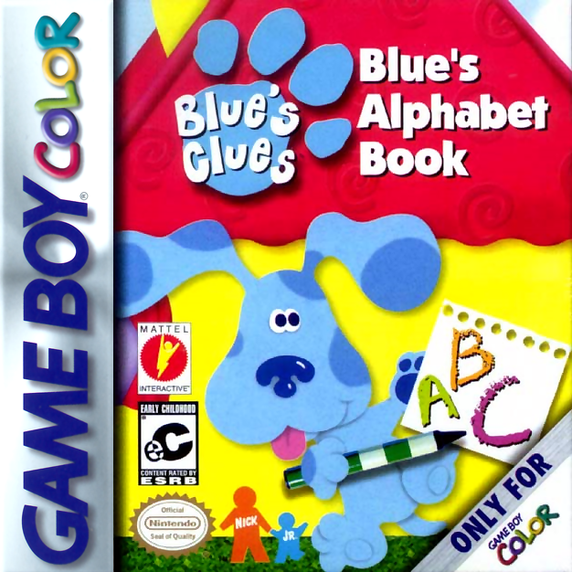Blue's Clues - Blue's Alphabet Book Nintendo Game Boy Color cover artwork