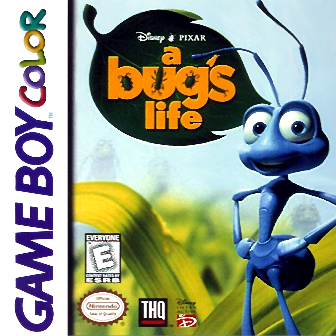Game boy color online games - Bug 039 S Life A Nintendo Game Boy Color Cover Artwork