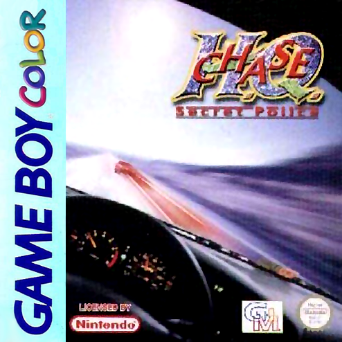 Chase H.Q. - Secret Police Nintendo Game Boy Color cover artwork