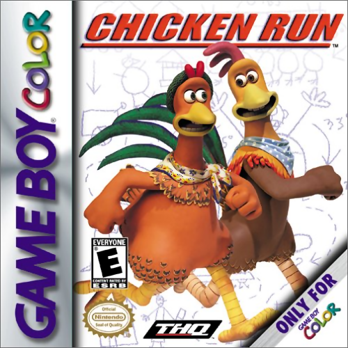 Chicken Run Nintendo Game Boy Color cover artwork