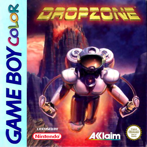 Dropzone Nintendo Game Boy Color cover artwork