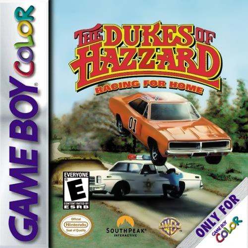 Dukes of Hazzard, The - Racing for Home Nintendo Game Boy Color cover artwork